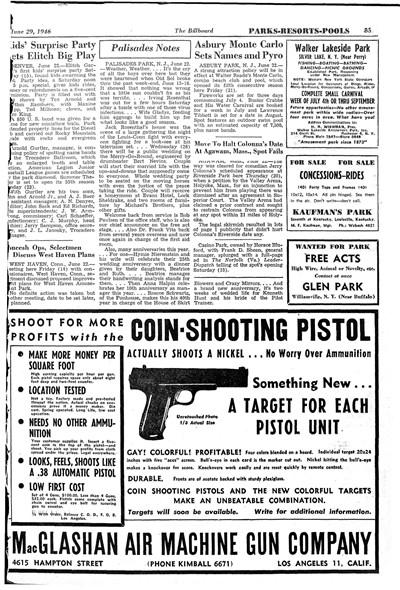MacGlashan Coint shooting Pistol Ad